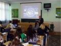 Интерактивную лекцию проводит директор колледжа В. Н. Соченко