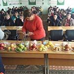 встреча студентов с ведущим фермером-садоводом В. Г. Волковым